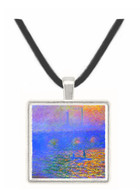 Waterloo Bridge by Monet -  Museum Exhibit Pendant - Museum Company Photo