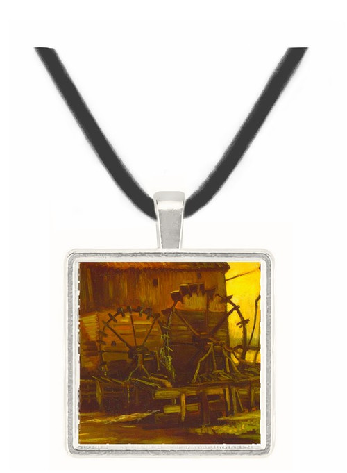 Waterwheels by Van Gogh -  Museum Exhibit Pendant - Museum Company Photo