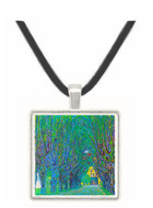 Way to the Park by Klimt -  Museum Exhibit Pendant - Museum Company Photo
