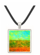 Wheat Field with a Lark -  Museum Exhibit Pendant - Museum Company Photo