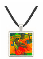 When You Hear by Gauguinjpg -  Museum Exhibit Pendant - Museum Company Photo