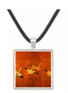Wild Geese - unknown artist -  Museum Exhibit Pendant - Museum Company Photo