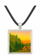 Wind River Country by Bierstadt -  Museum Exhibit Pendant - Museum Company Photo