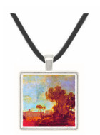 Windsor Castle from Salt hill by Joseph Mallord Turner -  Museum Exhibit Pendant - Museum Company Photo