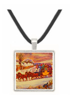 Winter - Henry Alken -  Museum Exhibit Pendant - Museum Company Photo