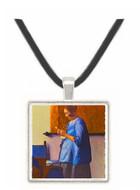 Woman in Blue - Jan Vermeer van Delft -  Museum Exhibit Pendant - Museum Company Photo