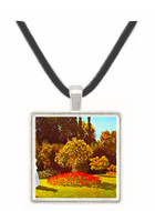 Woman in the garden -  Museum Exhibit Pendant - Museum Company Photo