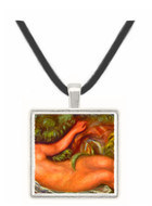 Woman Reclining by Renoir -  Museum Exhibit Pendant - Museum Company Photo