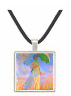 Woman with Parasol -  Museum Exhibit Pendant - Museum Company Photo