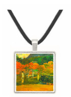 Women and Mold by Gauguin -  Museum Exhibit Pendant - Museum Company Photo