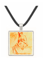 Women at the Toilet by Manet -  Museum Exhibit Pendant - Museum Company Photo