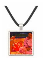 Women of Tahiti - Paul Gauguin -  Museum Exhibit Pendant - Museum Company Photo