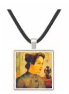Women With Topknots by Gauguin -  Museum Exhibit Pendant - Museum Company Photo