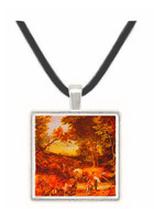 Wooded Landscape with a Wagon Train - Jan Brueghel -  Museum Exhibit Pendant - Museum Company Photo