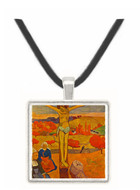 Yellow Christ by Gauguin -  Museum Exhibit Pendant - Museum Company Photo