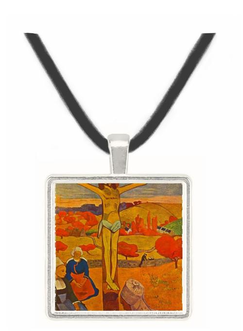 Yellow Christ by Gauguin -  Museum Exhibit Pendant - Museum Company Photo