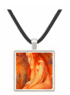 Young Girl Bathing - Auguste Renoir -  Museum Exhibit Pendant - Museum Company Photo