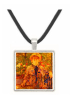 Young Girl in a Green House - Berthe Morisot -  Museum Exhibit Pendant - Museum Company Photo
