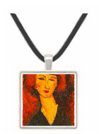 Young Woman of Montmartre - Amedeo Modigliani -  Museum Exhibit Pendant - Museum Company Photo