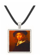 Youth with a Black Cap - Rembrandt Harmenszoon van Rijn -  Museum Exhibit Pendant - Museum Company Photo