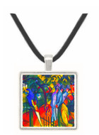 zoological gardens by Macke -  Museum Exhibit Pendant - Museum Company Photo