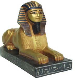 Egyptian Sphinx   Egyptian Museum, Cairo. 18th Dynasty 1450 B.C. - Photo Museum Store Company