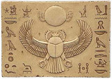 Egyptian Scarab Relief - Photo Museum Store Company
