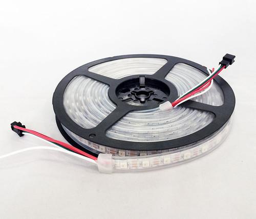 Addressable Sealed WS2812 RGB 60-LED Strip (1 Meter)