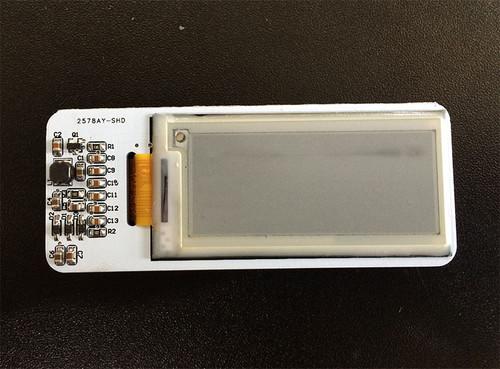 """2.04"""" E-paper Shield for Arduino/pcDuino"""