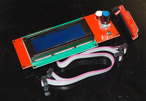 CuteDigi 2004 Smart LCD Controller With Adapter For RepRap Ramps 1.4 3D Printer