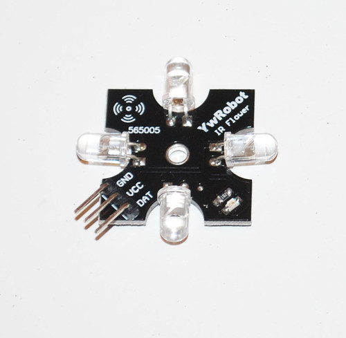 Breakout for Four Infrared Emitters of Difference Directions