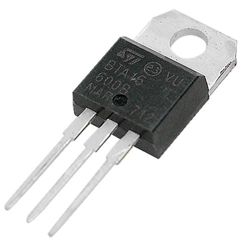Silicon Bidirectional Thyristors 600V 16A SCR Triac BTA16-600B