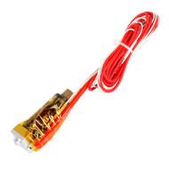 Assembled J-head Hotend Nozzle for Filament Reprap MakerBot Kossel Delta: ptfe 1.75mm/nozzle 0.5mm