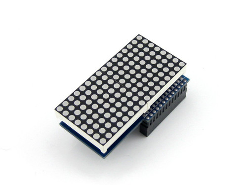 2 LED Display Dot Matrix 16*8 Module for Raspberry Pi B+/2