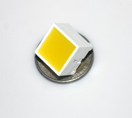 "Square LED - Yellow (0.5"")"