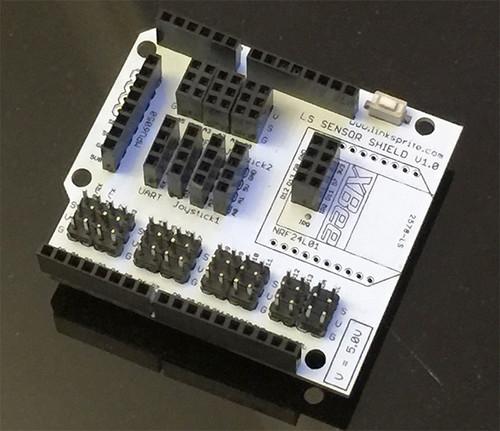 Servo/Sensor Adaptor Shield for Arduino