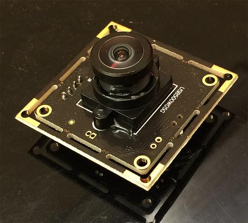 180 Degree Wide Angle fisheye YUY2 5MP USB Camera for Linux/Windows