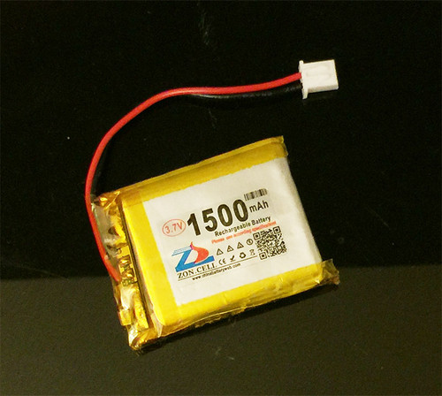 Polymer Lithium Ion Battery - 1500mAh