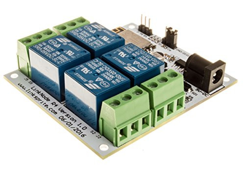 LinkNode R4: Arduino-compatible WiFi relay controller