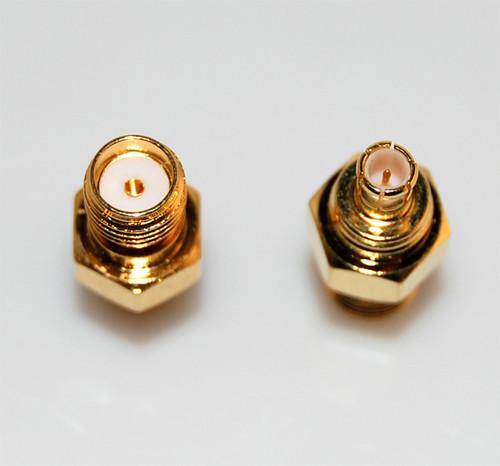SMA to MCX Adaptor (SMA Female to MCX Male)