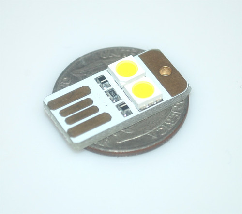 LED USB Dongle: Yellow