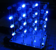 4x4x4 Light Cube Shield Kit for pcDuino/Arduino