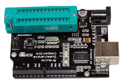 "ZIF Socket 28-Pin 0.3"""