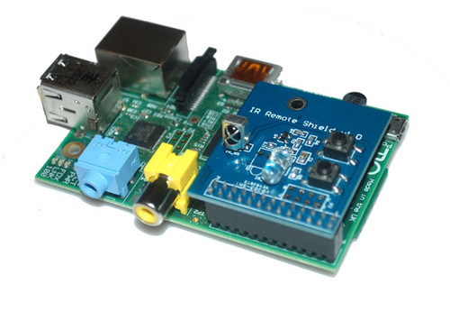 Infrared Shield for Raspberry Pi