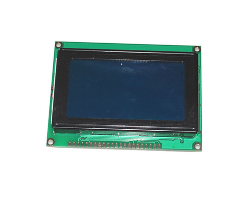128x64 12864 Graphic LCD Display - White on Blue Background