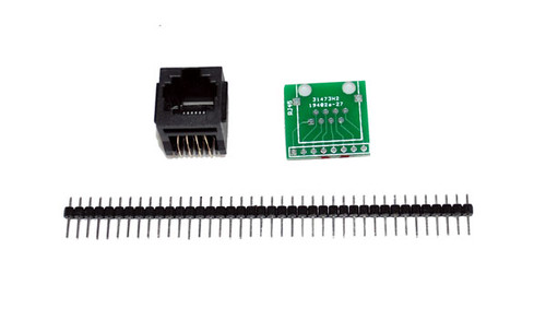 RJ45 8-pin Connector and Breakout Board Kit