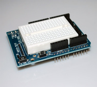 Protoshield for Arduino with Mini Breadboard