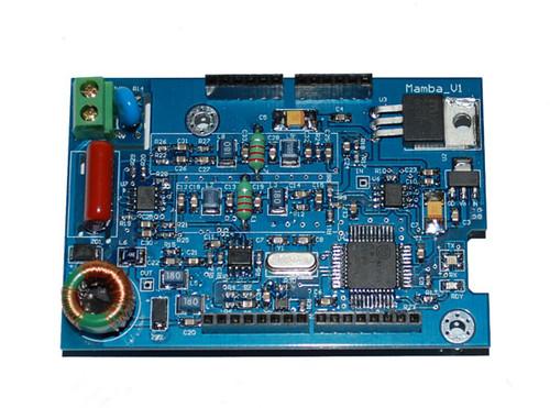 Mamba - Narrow Band Powerline Communication Shield for Arduino