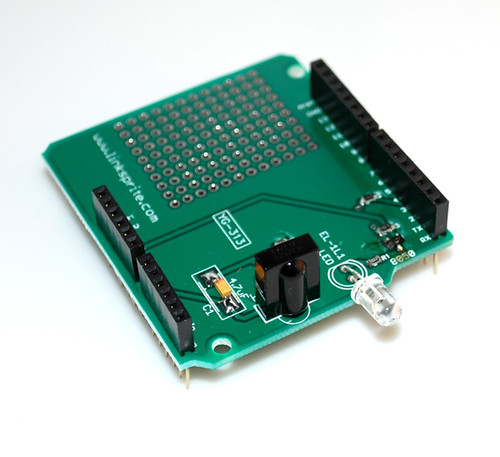 Infrared Shield for Arduino