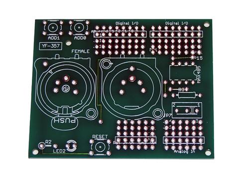 DMX-512 I/O Shield Bare PCB Board for Arduino